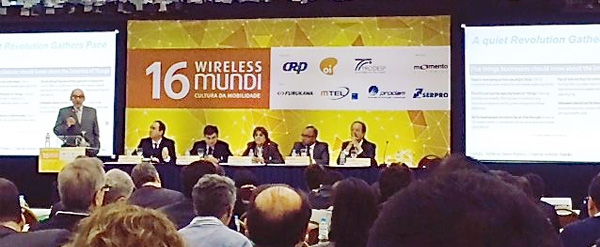 Abili presente no evento 16 Wireless Mundi