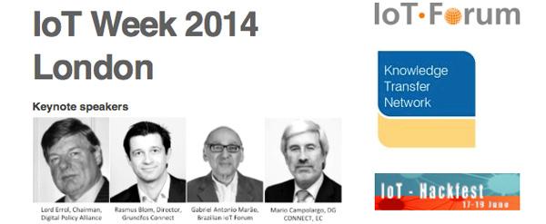 Sistema Monitorar na IoT Week London 2014
